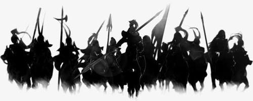 古代战争人物图片