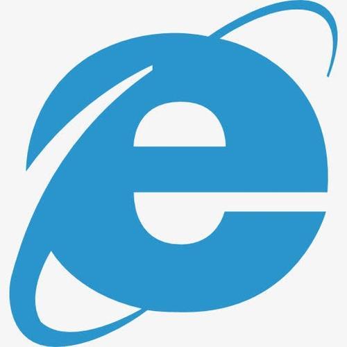 蓝色ie浏览器图标