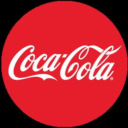 圆形可口可乐logo