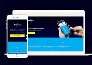 手机移动app商城网站模板