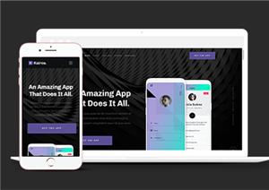 手机应用app程序网站模板
