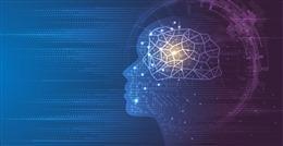 AI人工智能蓝色科技背景