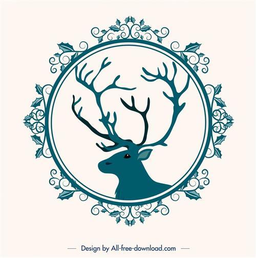 圣诞贺卡封面图案