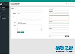 admin登录后台管理模板