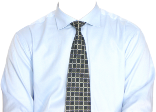 正装衬衫模板