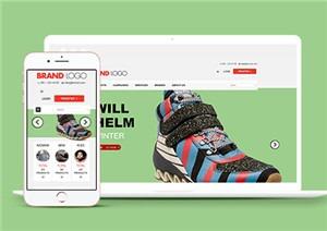 手机端鞋子商城网站整站模板