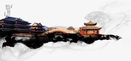 中国风传统宫殿楼阁