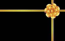 礼盒十字绑带装饰