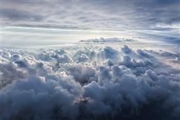好看白云图片