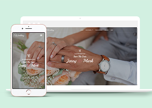 婚礼倒计时主题网站模板