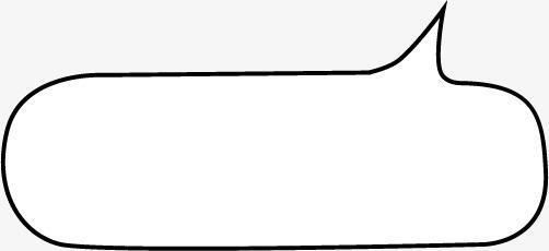 简约对话框空白边框