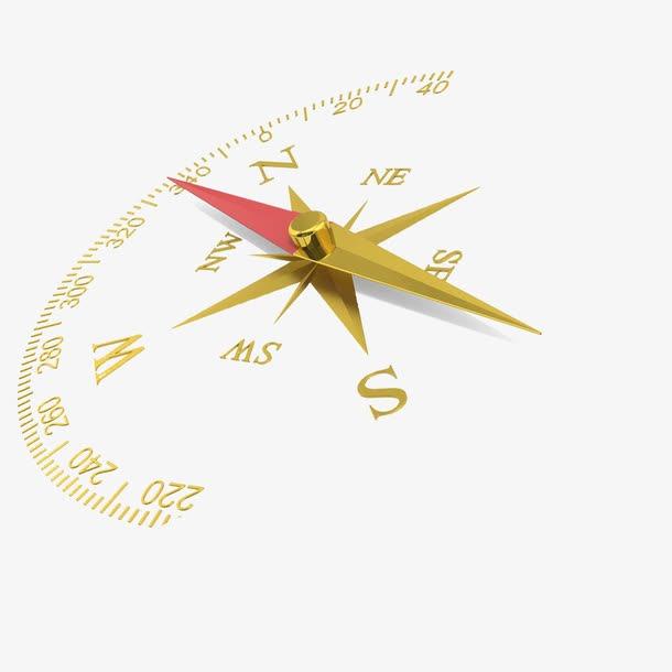 指南针矢量图标