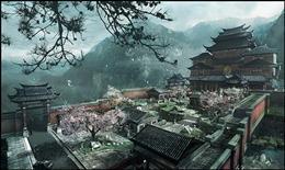 3d游戏场景图