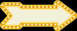 霓虹灯广告牌标签框