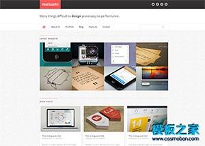 名片印刷制作公司企业网站模板