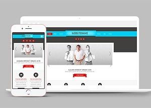 商务服务公司网页设计