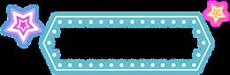 小清新电商标签边框