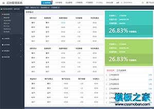 交易订单管理系统网站模板