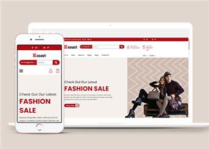 时装店铺电商html5网站模板