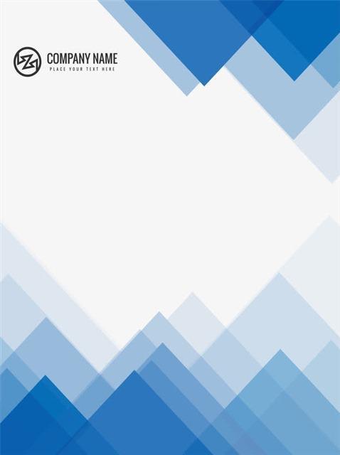 商务策划宣传册封面边框