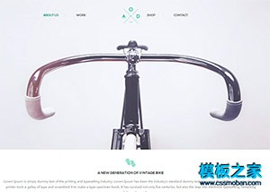 自行车企业官网网站模板