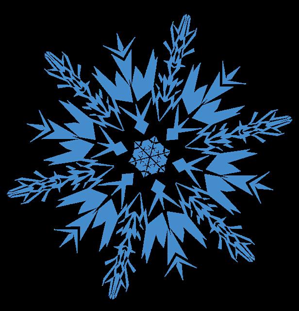 钻石雪花晶体图案