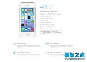 苹果app应用开发者官网模板