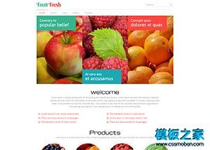 水果O2O线上卖场网站模板