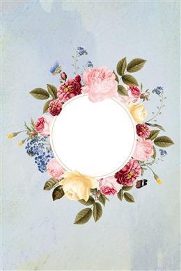 植物花朵装饰背景图片