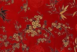红色梅花纹样图片