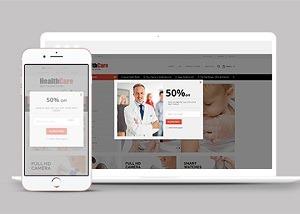 保健品药店商城网站模板