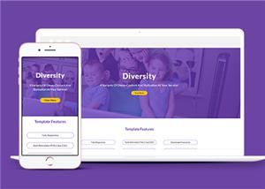 创意四款风格企业网站模板