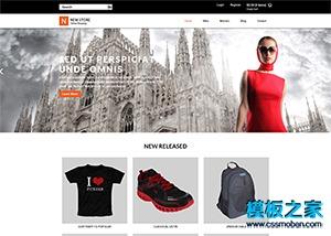 服装在线商城系统网站