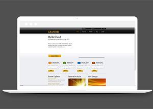 企业宣传网站模板