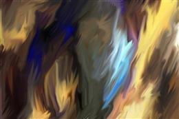 3d油画背景墙