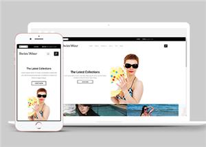 泳衣在线商城网站模板