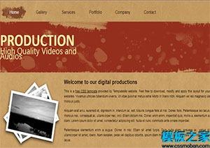 production多用途单页网站模板