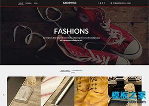 自适应鞋子服装购物商城网站