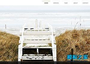模特摄影公司网页模板