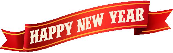 新年快乐红色条幅