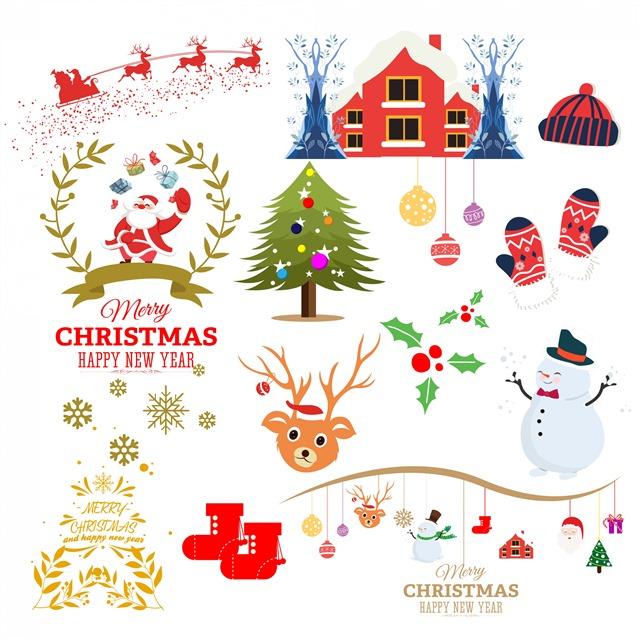 手绘圣诞节装饰挂件