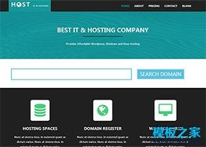 IT科技空间主机提供商企业网站模板