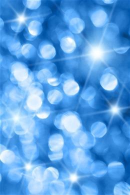 蓝色抽象闪耀光斑背景