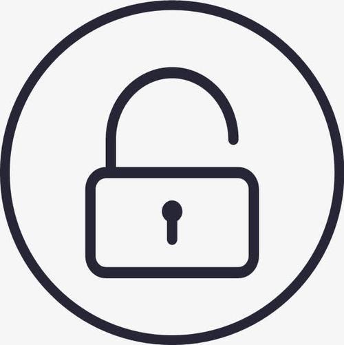 安全登录锁头图标