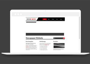 图文排版作品集展示网站模板