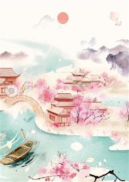 江南水乡古风背景