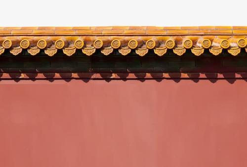 故宫红墙高清图