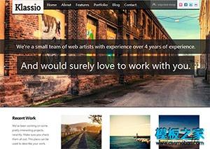 摄影公司响应式网站