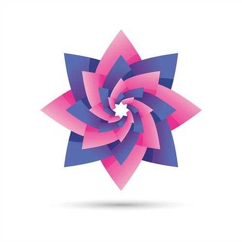 花卉图案logo