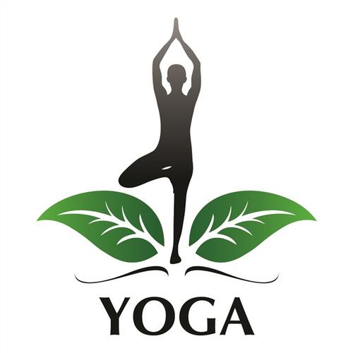 瑜伽馆logo创意设计